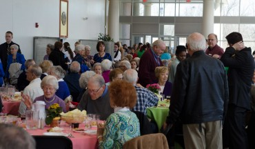 More than 600 senior adults gathered at MBU March 7 for the University's 14th Senior Adult Day.