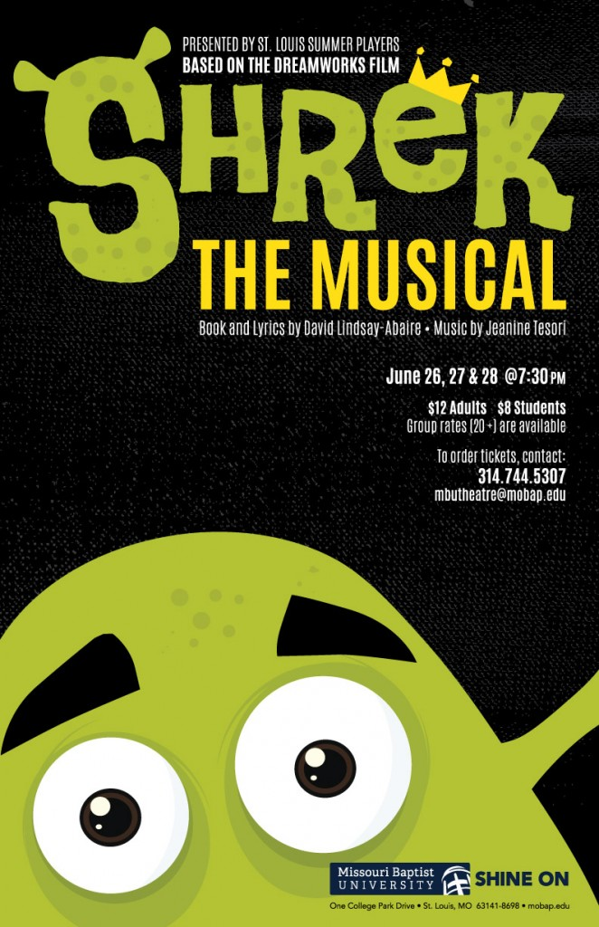 Summer Players present Shrek - the Musical