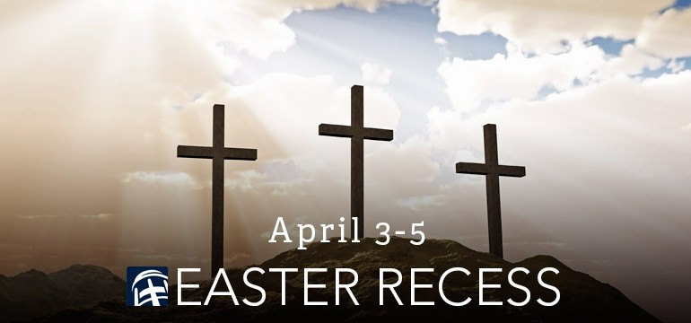 Easter recess