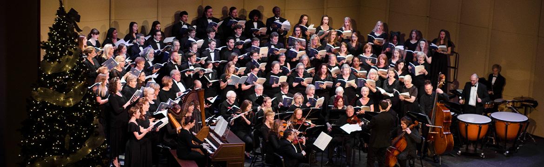 fine arts choir concert